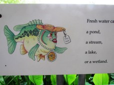 Ethel the Fish guides you thru the entire hatchery offering advice and fun facts!