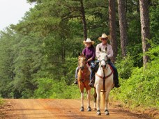 These horseback riders were just getting started when I made it back to the trail head.