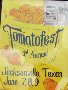 A poster from the very first Tomato Fest!