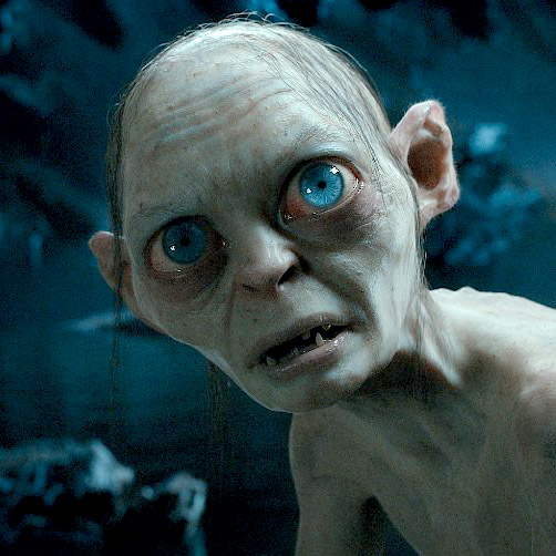 Gollum frightens me more in still pictures than live action for some reason.