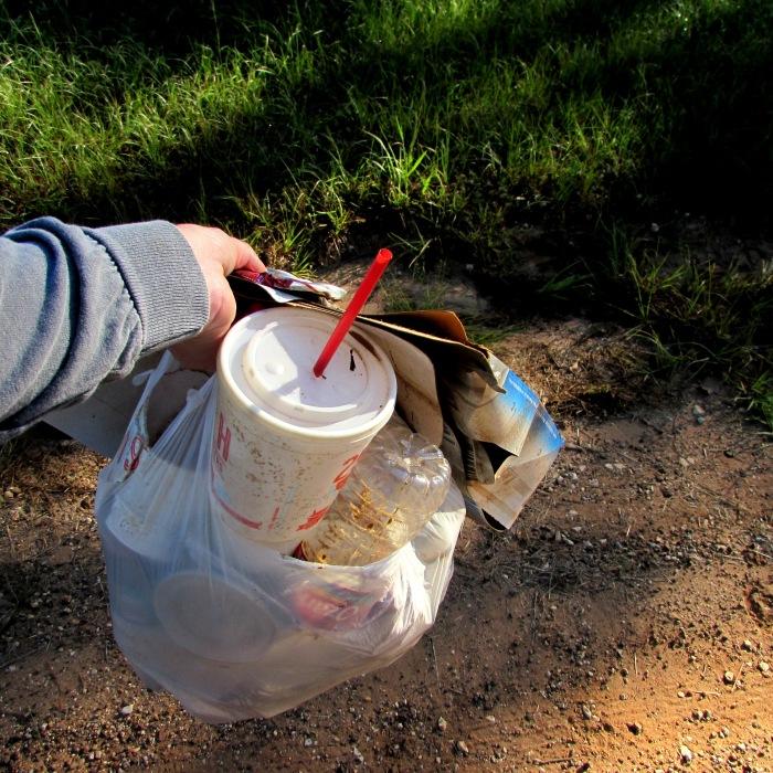 walk trash