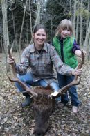 With Rob's elk 2013.