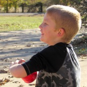 Cute cousin Garrett.