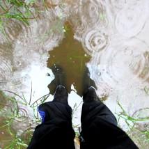 walk rain