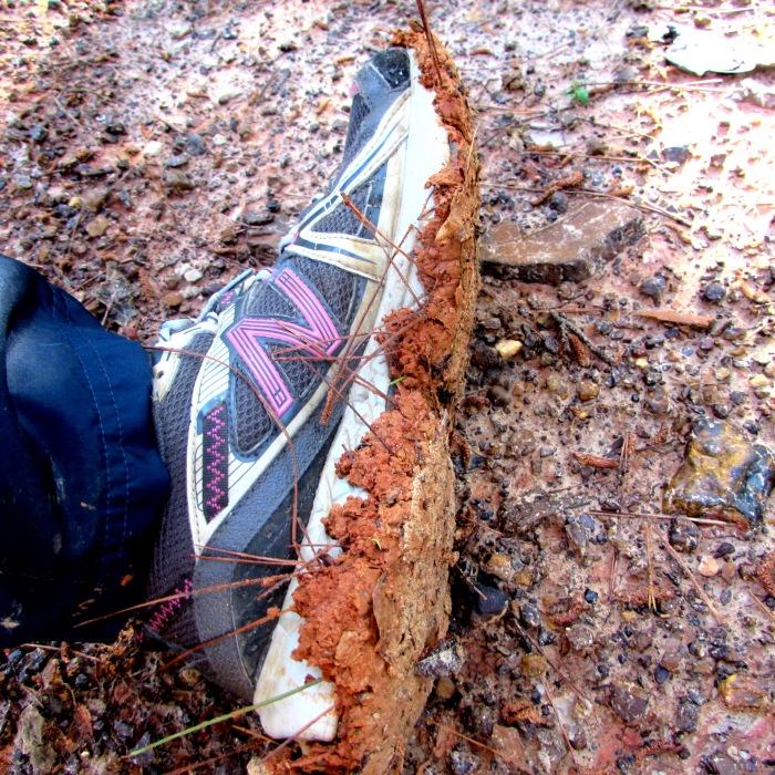 walk mud