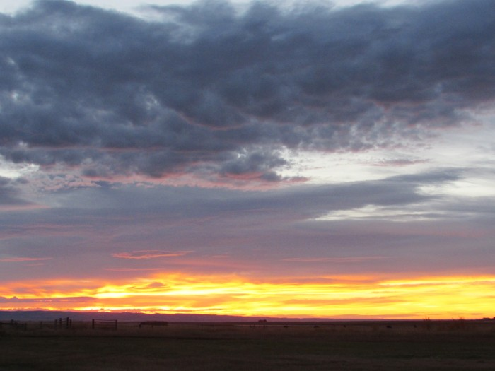 wyoming sunrise