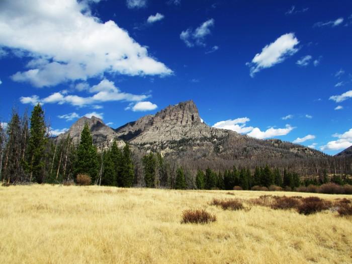 walk wy field peak