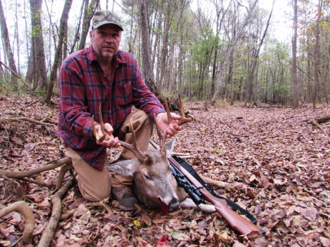 Rob managed a nice buck, even if I didn't!